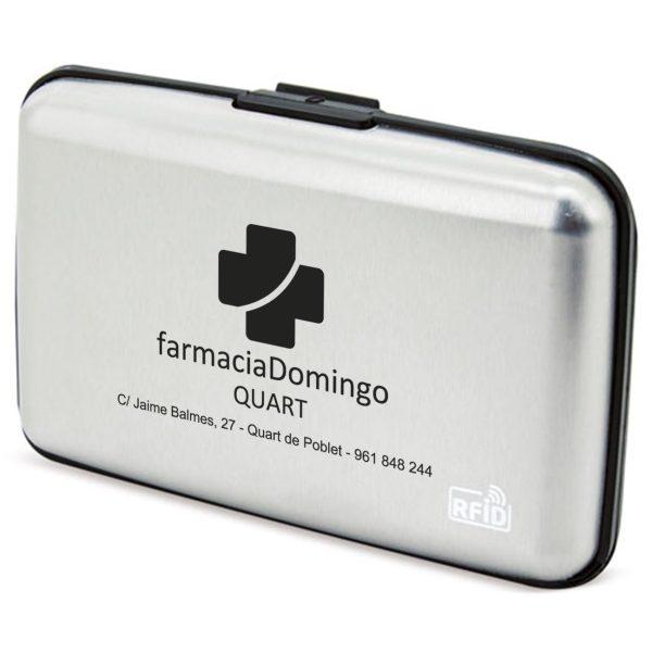 tarjetero aluminio RFID